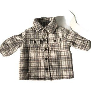 Carter's, Infant, 3 Months, Fleece Lined Shirt